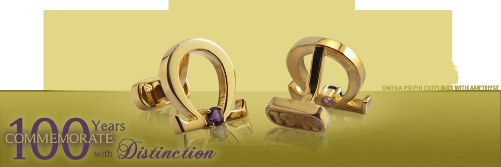 CUSTOM IDENTITY: Personalized Distinction™ Customized cufflinks